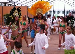 Les danseuses Brésiliennes