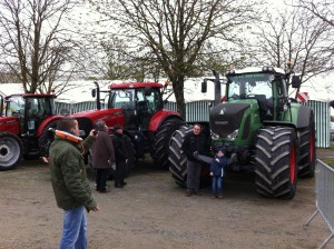 Impressionnant les tracteurs