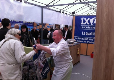 2014: Animation culinaire
